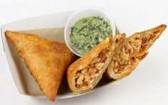 Receta para cocinar Samosa de pollo   Recetas Indias