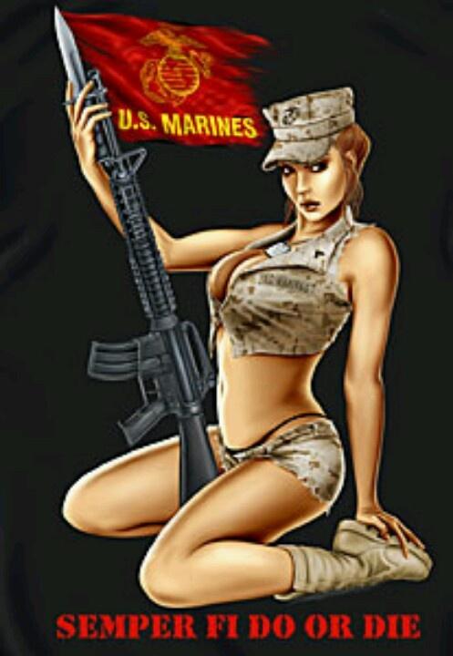 Nude marine corps babes — 5