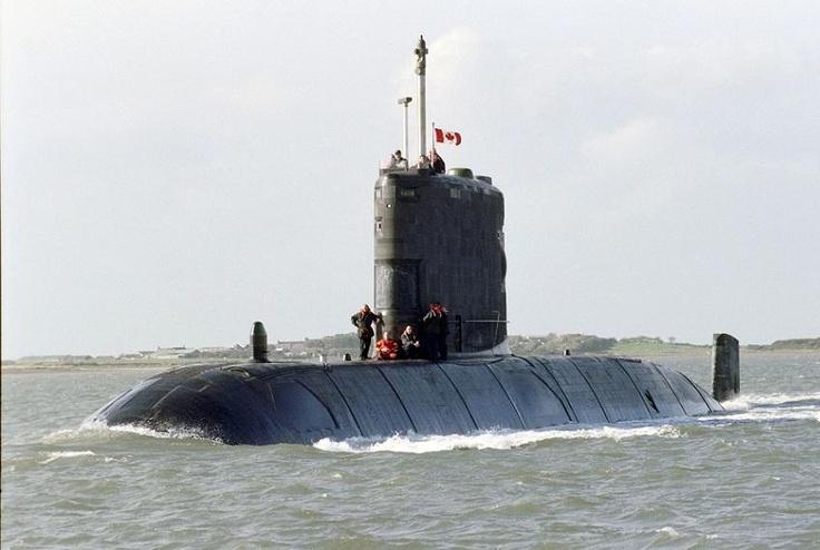 HMCS Windsor, Canadian Submarine -