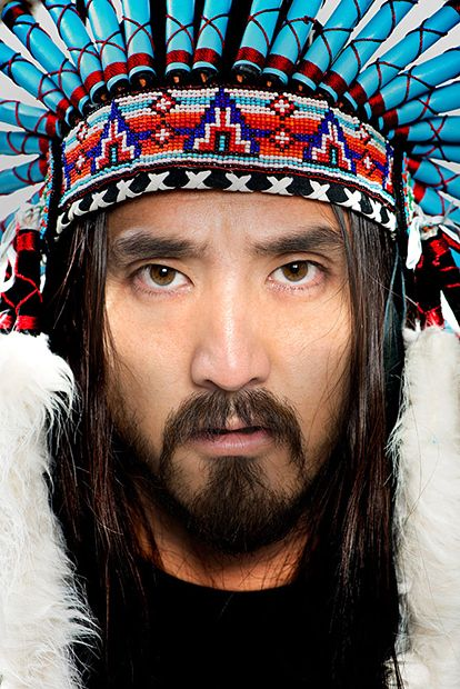 steve aoki: workout music overload! I love this man and his talent. I met him a long time ago in Arizona and never realized it till years later.