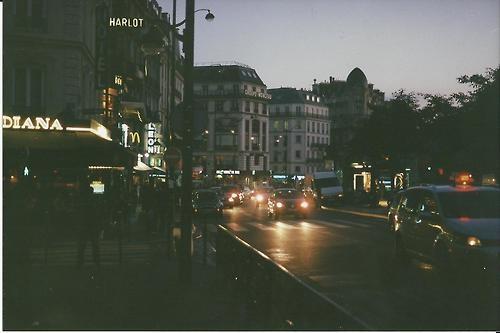 French Nightlife. 35mm with Minolta x 570