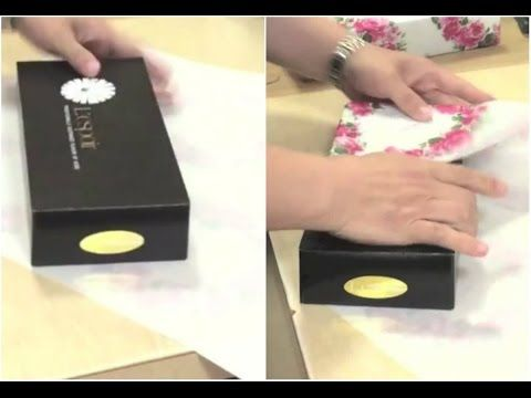 Gift Wrapping Hack a really fast and awesome way to wrap your presents