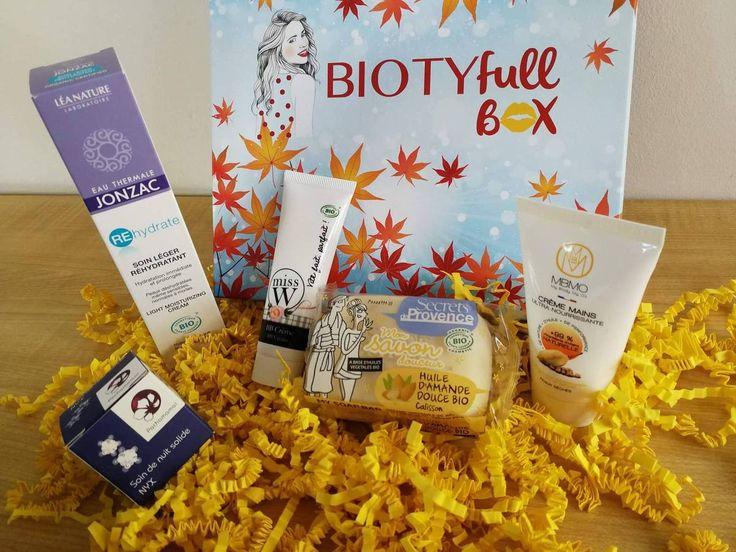 Contenu de ma Biotyfull Box d'octobre 2017