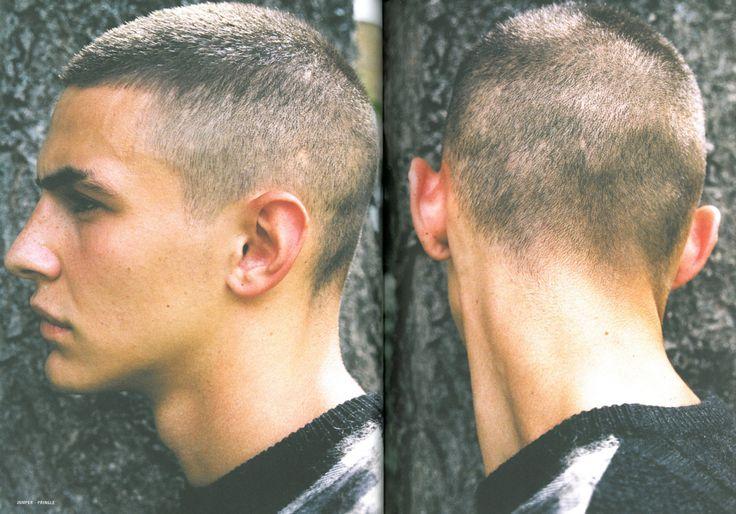 pukeboy: Jack Manhood modelling for Peter de Potter in Dust Magazine Issue #2
