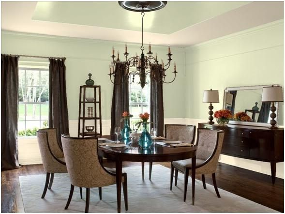 14 best 2015 39 s benjamin moore color of the year guilford for Neutral dining room colors