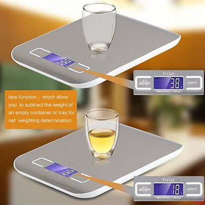 Digital Food Scale Stainless Steel Backlit LCD Display Multifunction Kitchen Electronic Balance $8.99 +FS @AC: - Price… #coupons #discounts