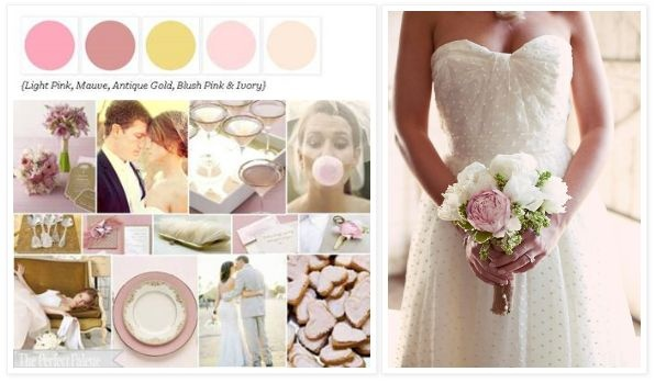 blush.: Wedding Color, Sweet, Wedding Dresses, Wedding Bouquets, 8 31 14 Wedding, Color Palette, Soft Bouquet, Blush