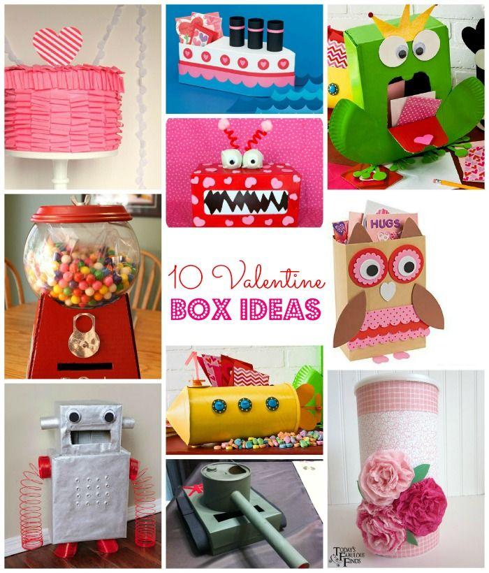 robot & owl valentine boxes