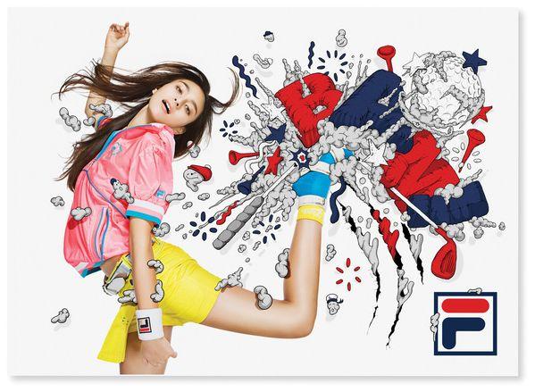 FILA Japan by Alex Trochut #2 via Behance