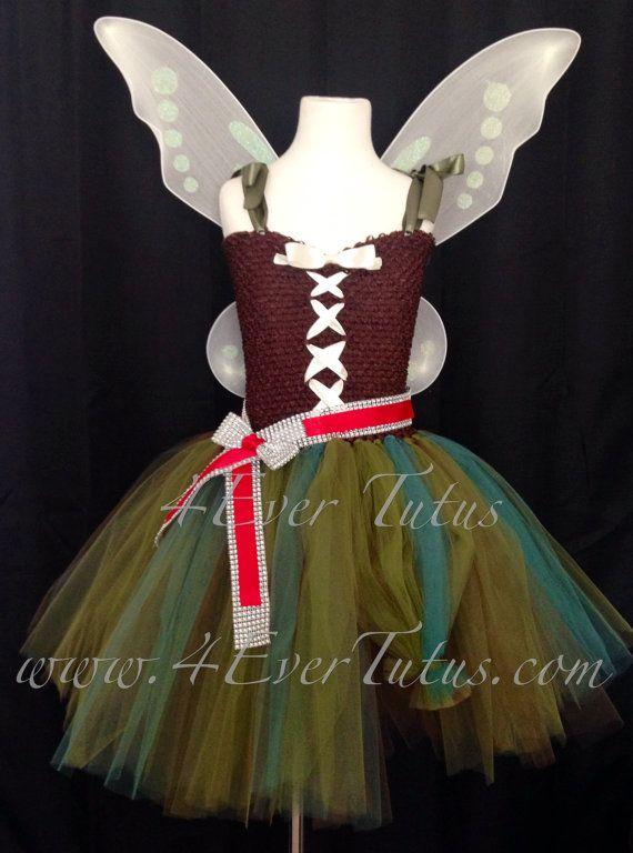 Pirate Fairy Zarina Tutu Dress by 4EverTutus on Etsy