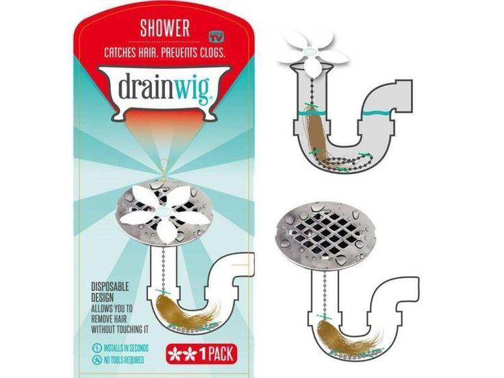 DrainWig Clean clogged drain, Shower drain, Clogged drain