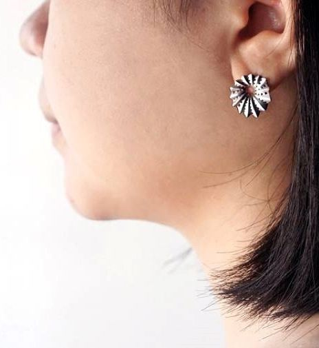 Marine earring designed by Chia Wei