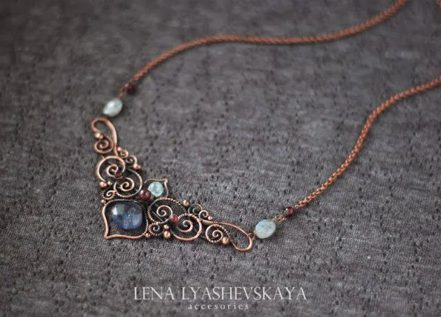 Mote: Magic lace from Lena Lyashevskaya