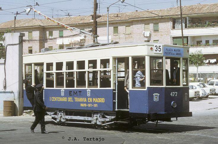 Antiguo tranvía MADRID