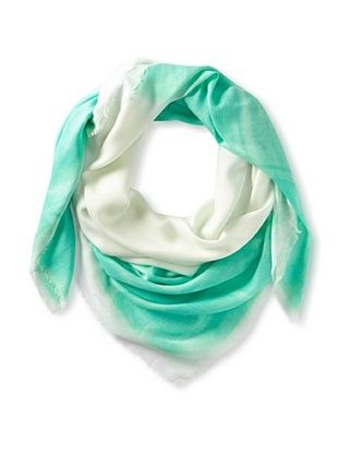 56% OFF Kenneth Jay Lane Women's Ombre Scarf, Teal Multi