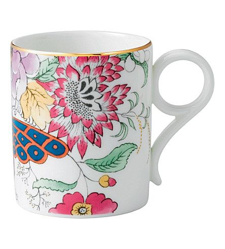 WEDGWOOD Archive Collection Floral Bouquet mug #featheryournest