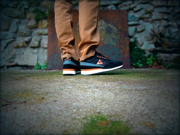 Guillaume So – Le Coq Sportif Eclat Size? Exclusive: Footwear Styling, Mixi Mixi, Coq Sportif, The Rooster
