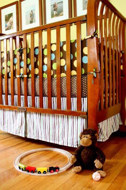 Noodlehead: baby boy crib set