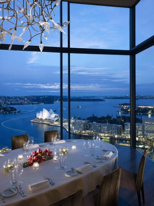 Imagine having dinner here? A view fit for a celeb. Click to read about our VIP stays in Sydney.