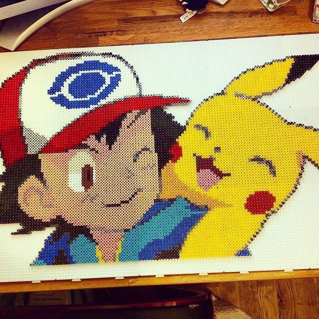 Pokemon Perler Bead Art By Ayladjuret Pokemon Pixel Art Perler Beads Pinterest P 228 Rlor