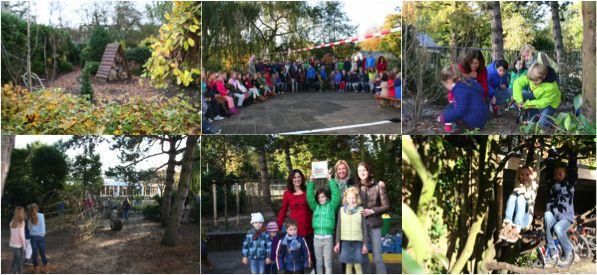 Officiële opening Groen Schoolplein Montessorischool Wassenaar - MontessoriNet