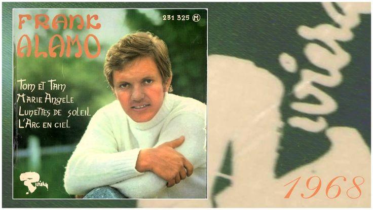 FRANK ALAMO 1968 Tom et Tam ( son dernier EP )