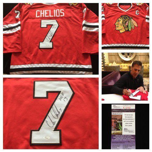 Chris Chelios Blackhawks Authentic Jersey