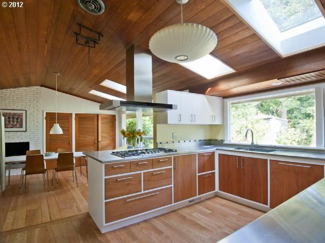Mid Century Kitchen 4110 Sw Greenleaf Ct Portland Or 97221