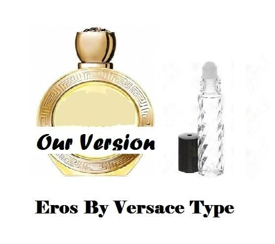 Eros By Versace Type Premium Womens Fragrance Perfume Oil