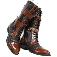Mens Italian Designer Dress Shoes Boots for Men - Liquiwork