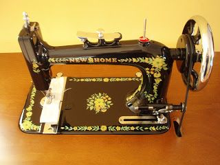 the new home sewing machine company