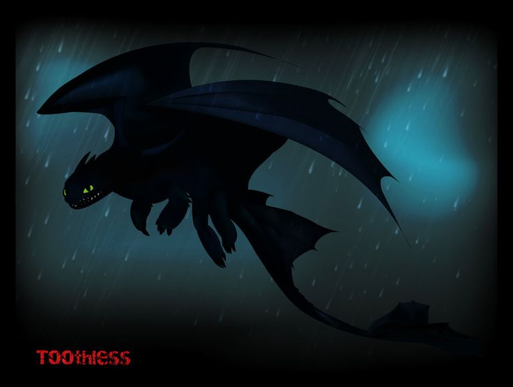 Toothless by Hikarol-chan on DeviantArt