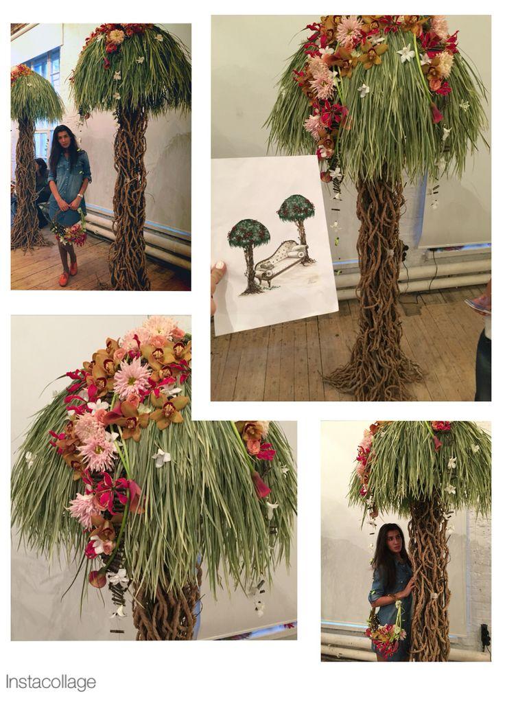 Деревья Гавайи , тренинг по декору Александры Мехедовой