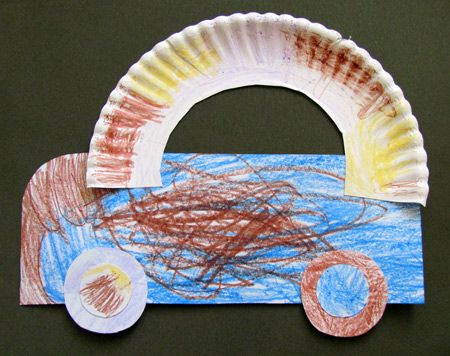 Transportation - We did this and the kids loved it. It was a little hard for them to keep the car top on. I had to re-glue with tacky glue.