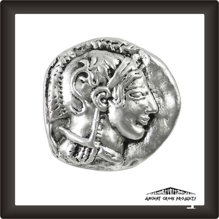 Athena, Silver-plated Paper Weight
