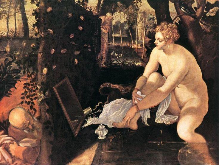 Susanna bathing, Jacopo Tintoretto