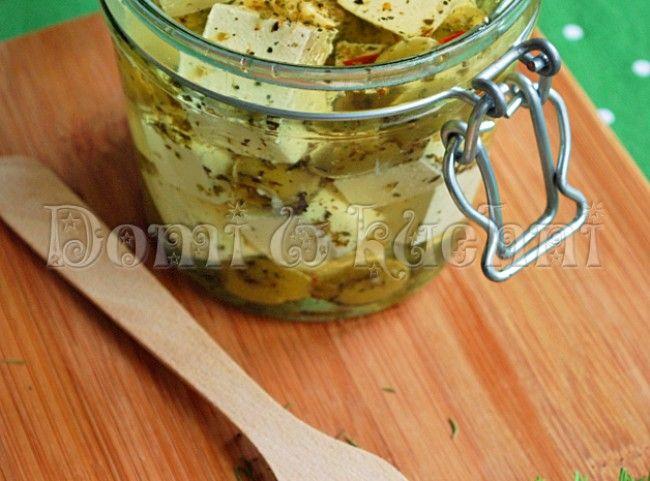 Marynowany ser feta | Domi w kuchni