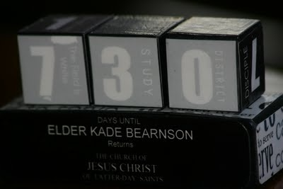 Missionary countdown :]