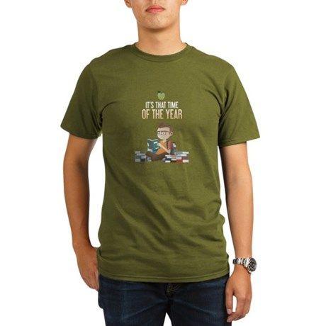 39599a1ba Back to school Organic Men's T-Shirt (dark) | Funny tees | T shirt ...