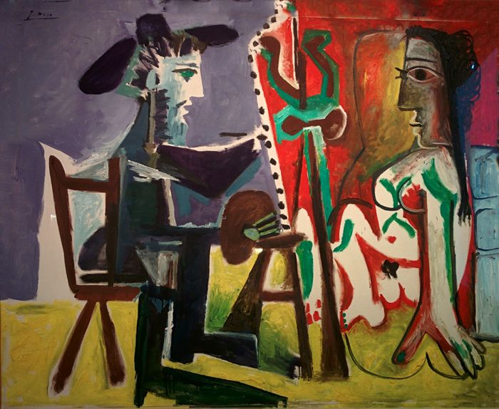 Picasso and Spanish Modernity – The painter and the Model, 1963