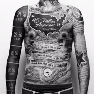 Extreme tatoo