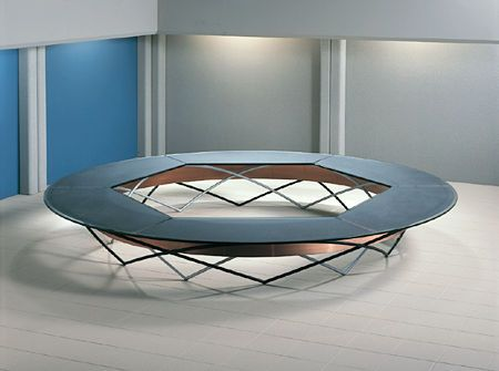 Arch Round Conference Table - Stoneline Designs