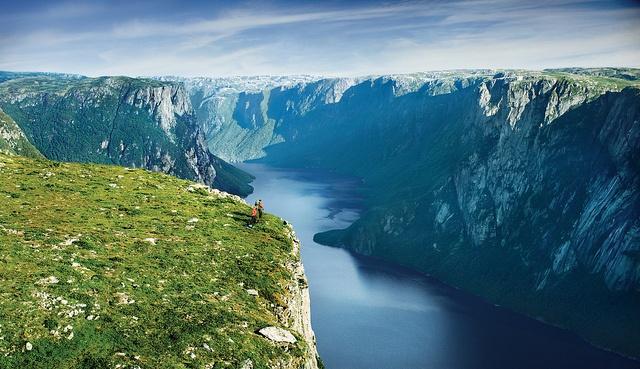 Gros Morne and Hikers by Newfoundland and Labrador Tourism, via Flickr