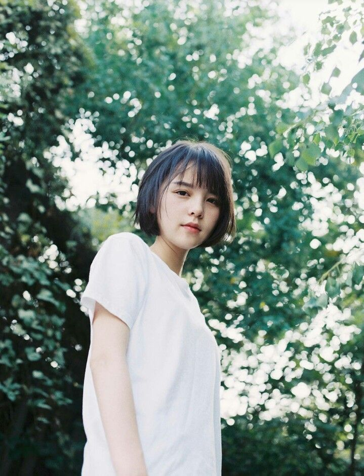 Pin By 9each On 雨一颗 Pinterest Haircut Styles Ulzzang