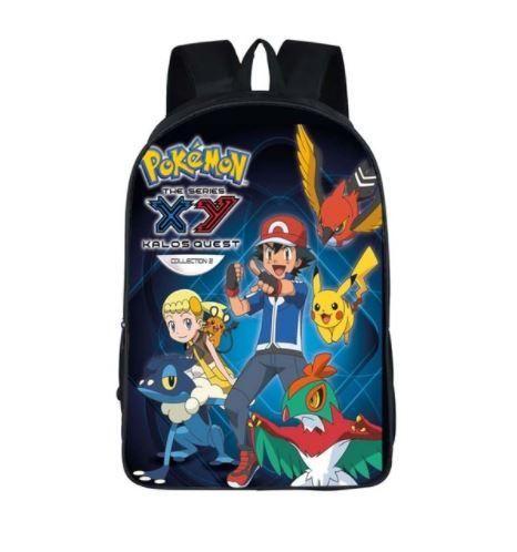 Pokemon Kalos Quest Ash Bonnie Trainers School Bag Backpack  #Pokemon #KalosQuest #Ash #Bonnie #Trainers #School #Bag #Backpack