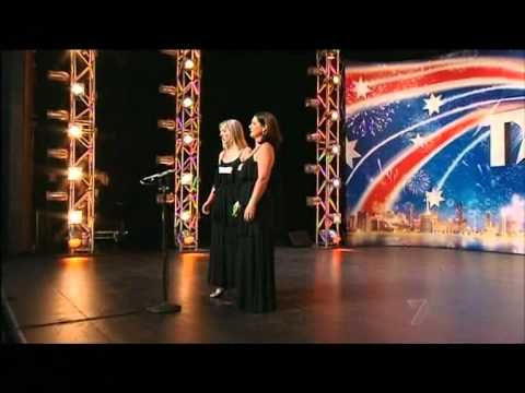 """Divalicious - Opera sisters Fiona & Penny  sing """"The Flower Duet"""" by Delibes on AGT Australia's Got Talent 2012 Auditions Night 5 Week 2. Copyright © 2012 Seven Network Australia. A wonderful performance of one of my favourite operatic arias."""