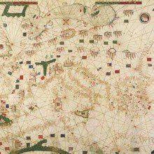 Portulan C.G.A.5.b, illuminated manuscript facsimile