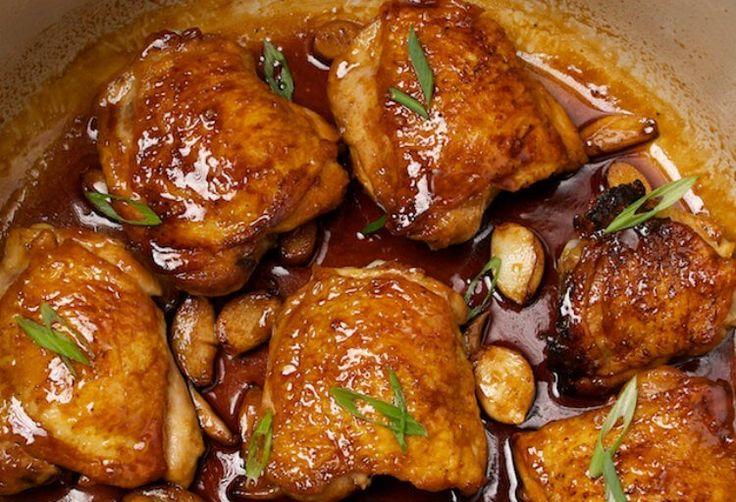 Pollo con almendras con Thermomix, receta rápida y sencilla con nuestro robot de cocina. Unareceta con un toque asiático que merece la pena hacerla en casa