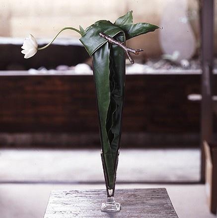 Floral art.  Designer?