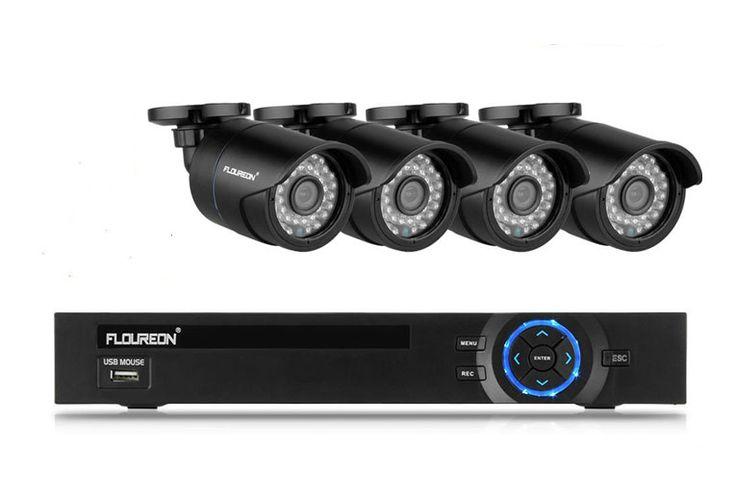 FLOUREON CCTV Videoüberwachung Outdoor Überwachungskamera